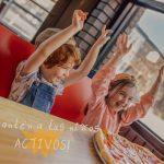 Actividades recreativas: niños más activos