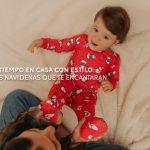 Pijamas navideñas: el mejor estilo para estar en casa